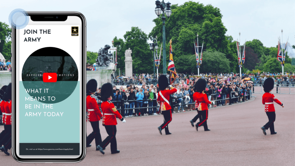 Eddystone beacon use cases and iBeacon 2018: Armed forces use Beaconstac to recruit more people in the army