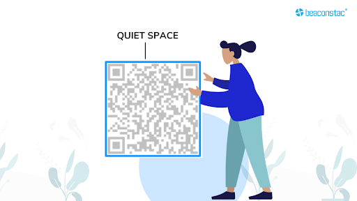 Be mindful of the breathing space on your vCard QR Codes