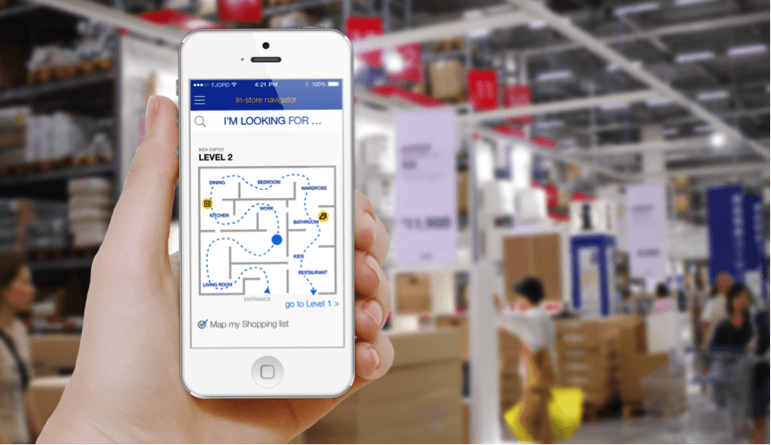 Retailers-use-beacons-to-assist-customers