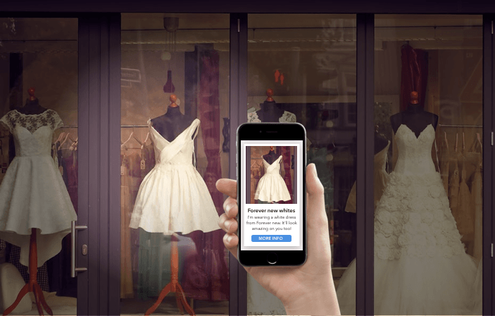 Beacon uses cases for Retail - Ted Bakers, a global fashion retailer brings mannequins to life with iBeacon technology