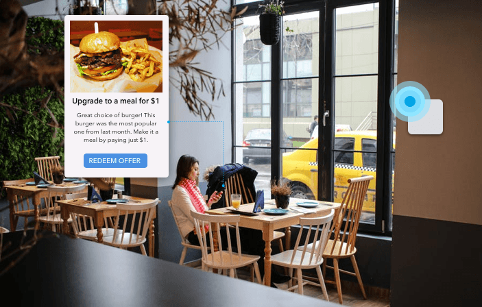 Beacons to supercharge bar restaurant marketing strategy