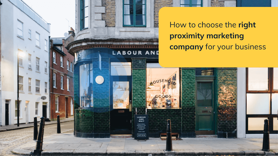 Comparison of Proximity marketing companies