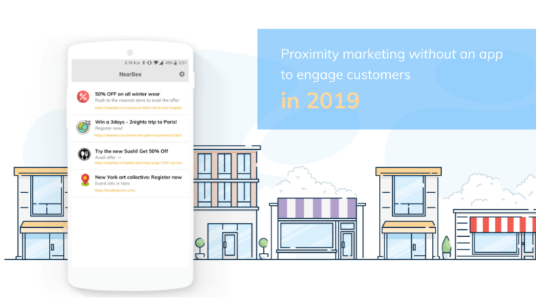Proximity marketing without an app to engage customers in 2019