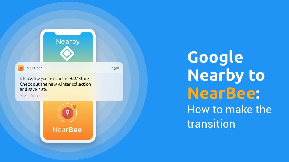 NearBee: Best Google Nearby alternative