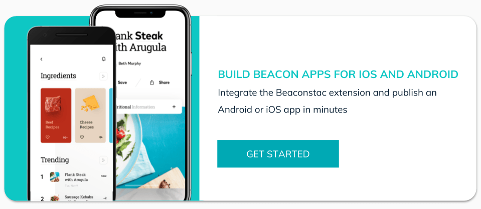 Start building beacon apps with Shoutem and Beaconstac