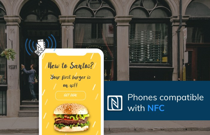 Phones compatible with NFC