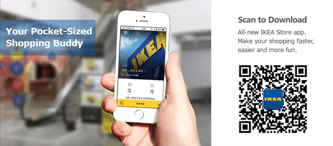 IKEA introduces faster check-outs with QR codes
