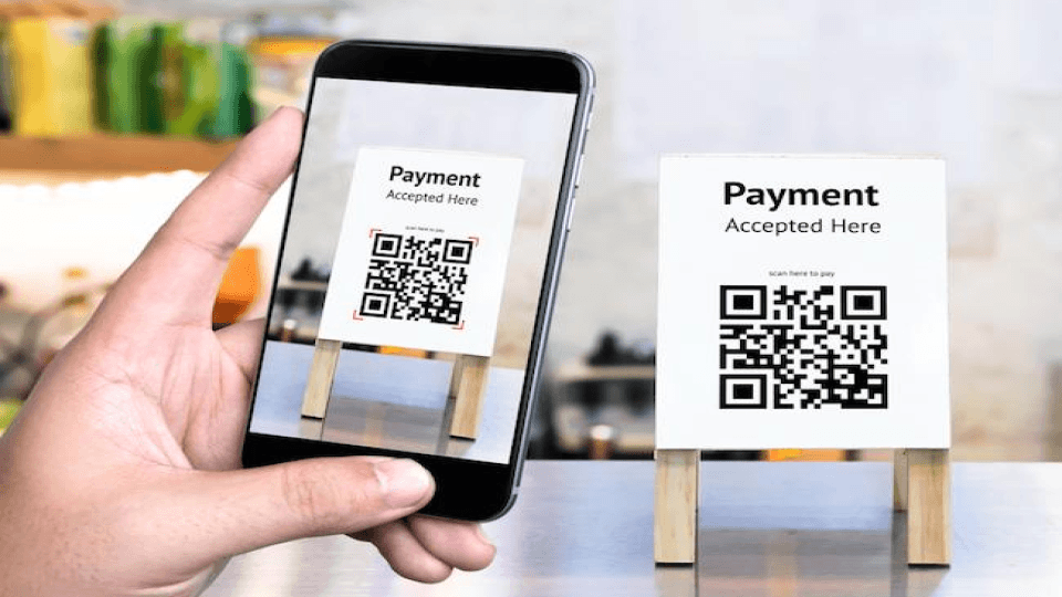Use QR Codes for cashless payment just like Walmart!