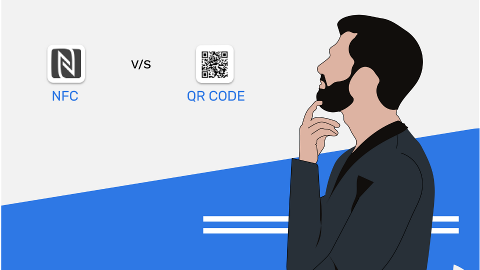 QR codes vs NFC tags