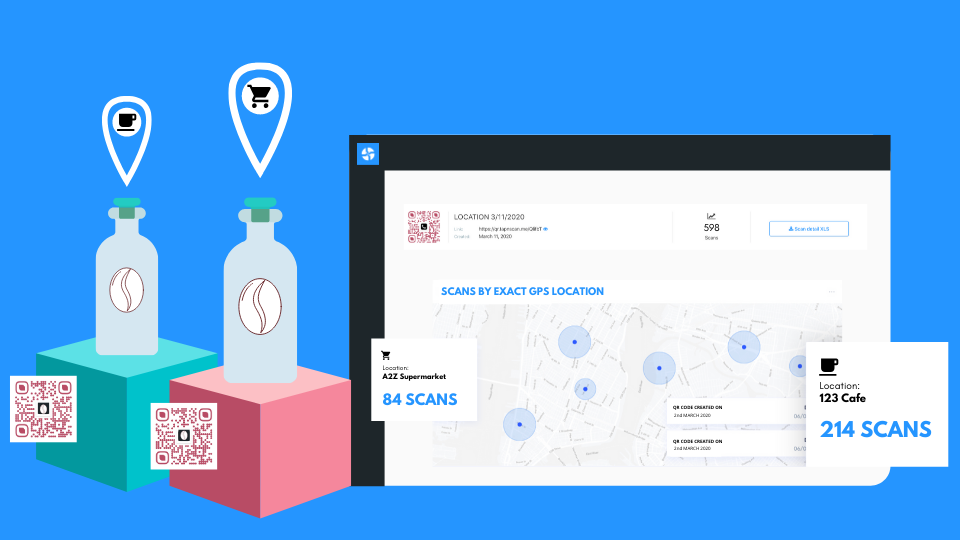 QR Code scan with GPS location | Product Update
