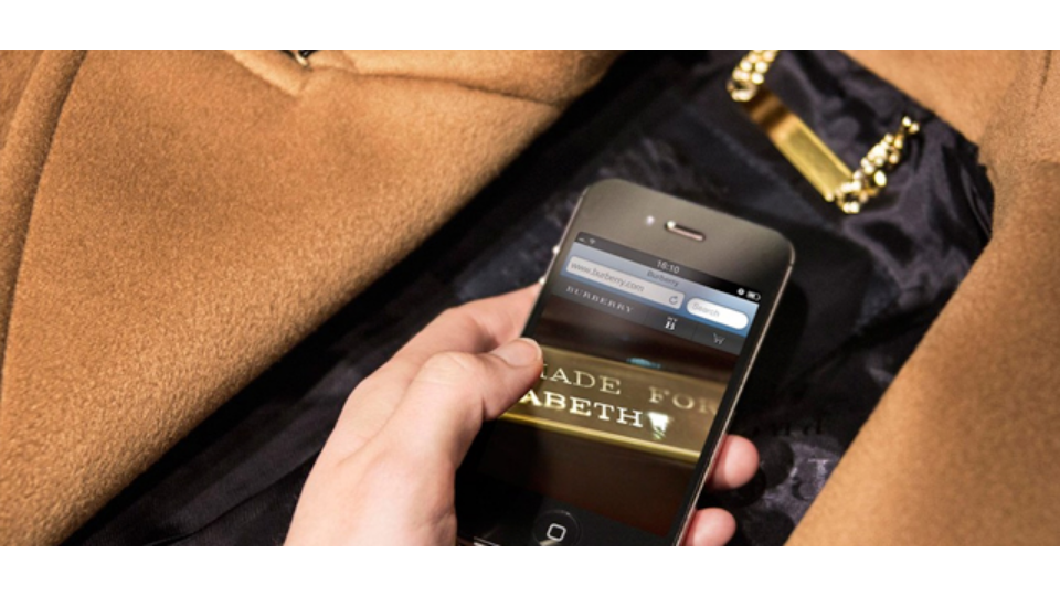 Burberry introduces NFC in its flagship stores