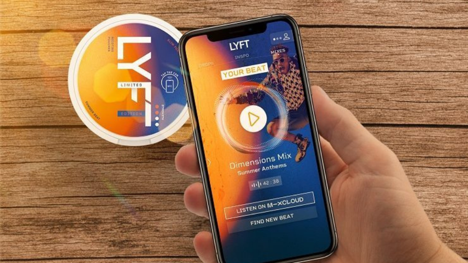 LYFT's NFC chips on cans to drive mobile consumer engagement