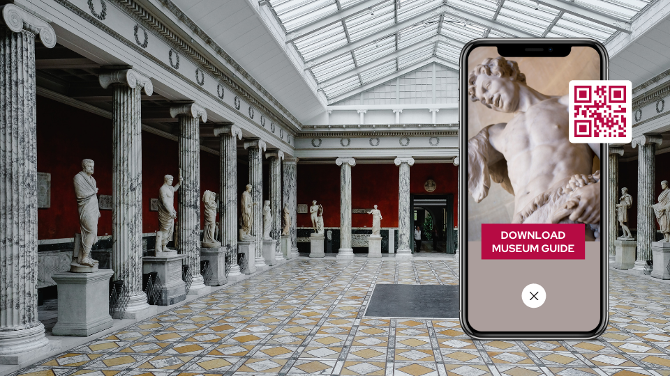 Easy museum guides with QR Codes for museums