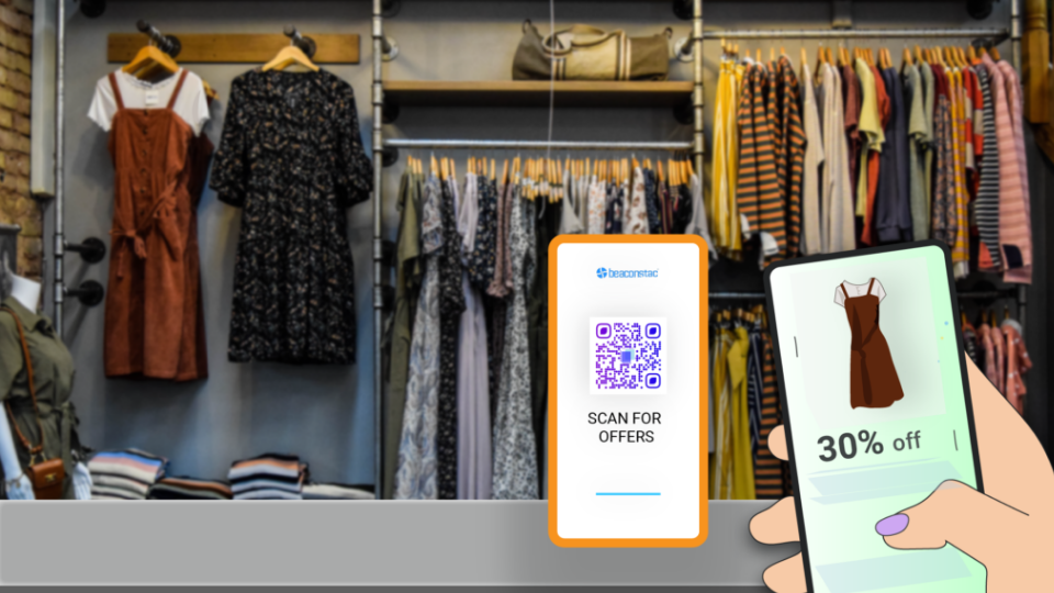DTC QR Codes within stores to improve customer experience