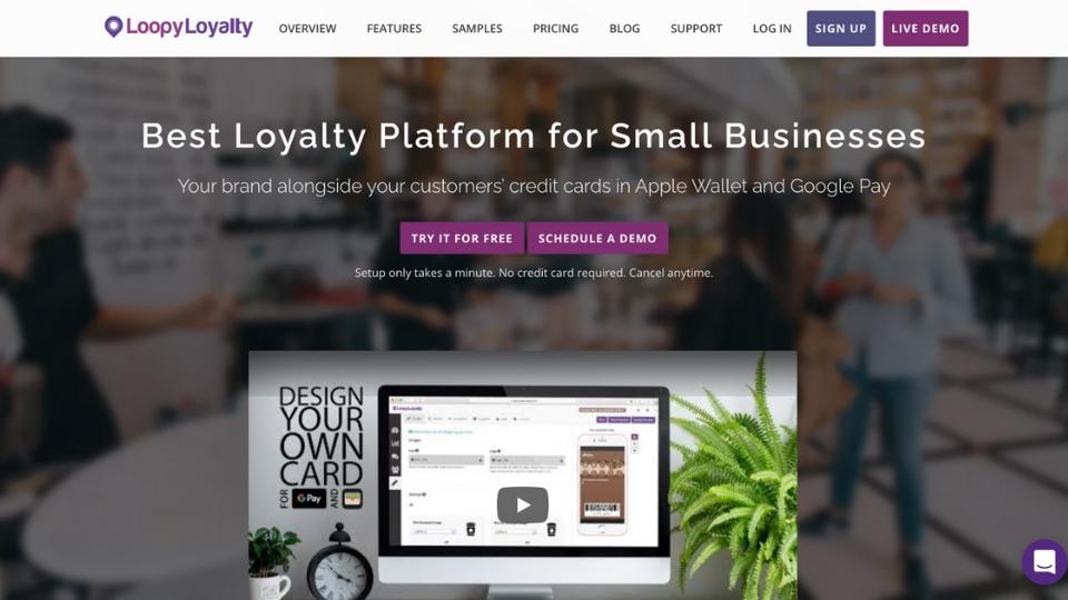 Loopy Loyalty's customer loyalty program software