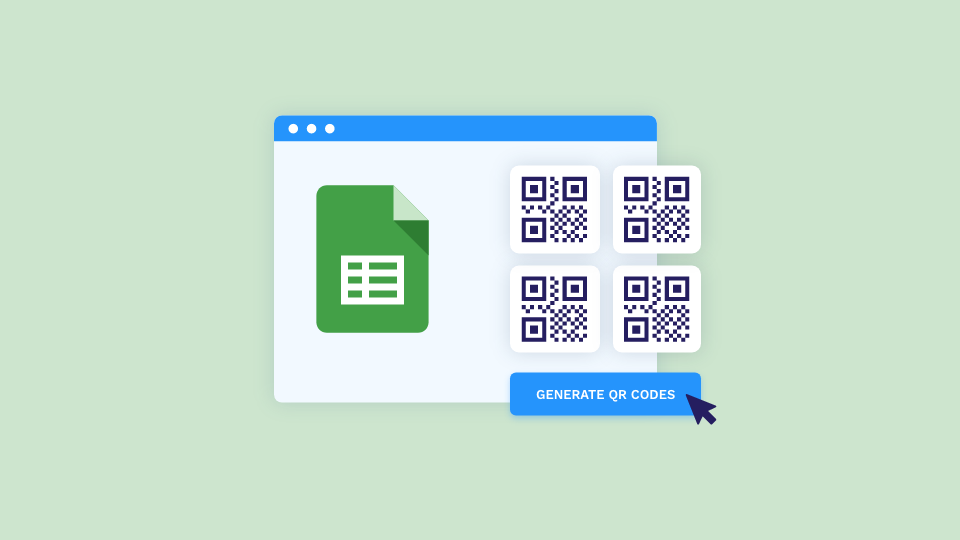 Manage Bulk QR Code Generation from a Single Google Sheet