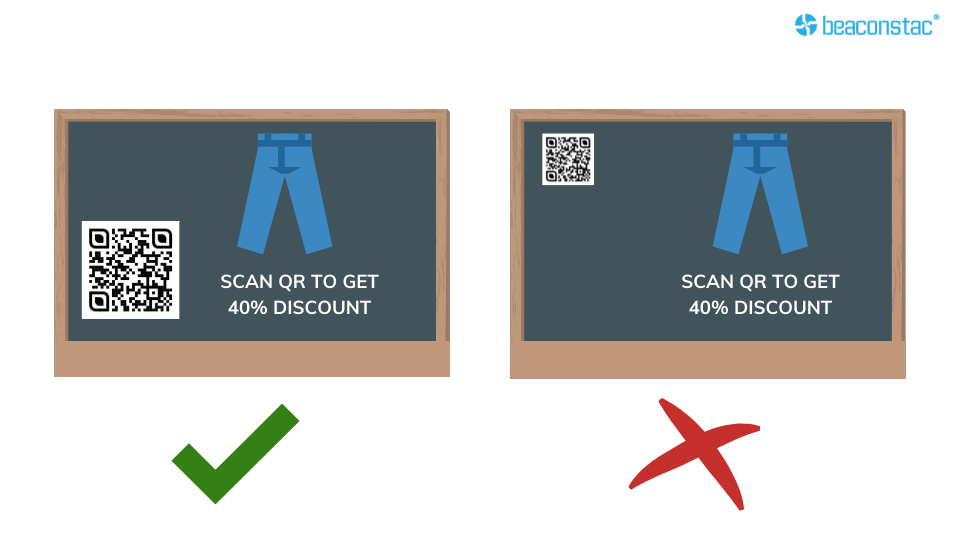Size of the QR Code