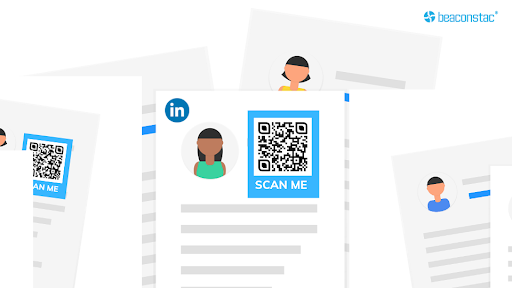 vCard QR Codes on resumes to stand out